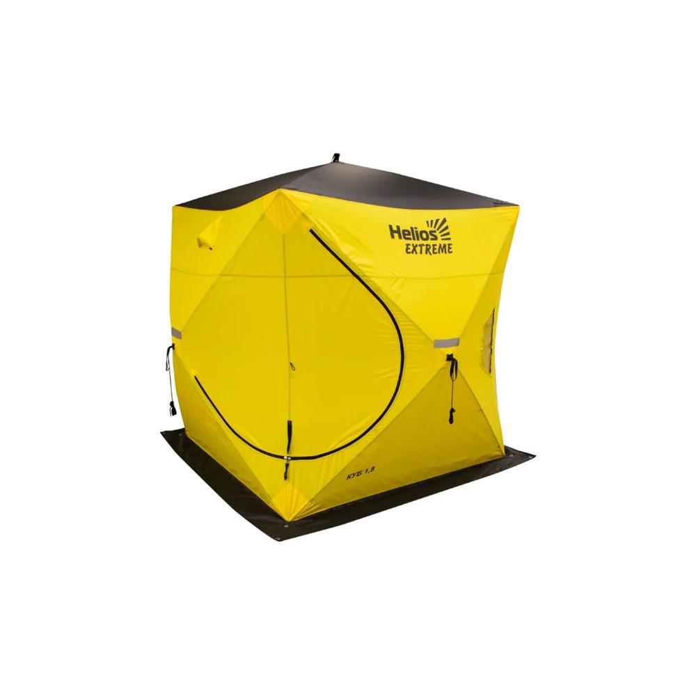 палатка зимняя куб extreme 1,8 x 1,8 helios v2.0