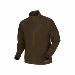 КУРТКА HARKILA MOUNTAIN HUNTER FLEECE JACKET HUNTING GREEN/SHADOW BROWN - Оружейно-рыболовный центр BALLISTICA