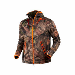 КУРТКА HARKILA MOOSE HUNTER FLEECE JACKET MOSSYOAK BREAK-UPCOUNTRY/MOSSYOAK ORANGEBLAZE - Оружейно-рыболовный центр BALLISTICA